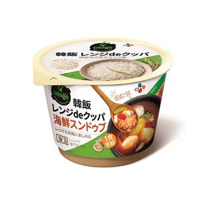 【ビビゴ】 韓飯レンジdeクッパ 海鮮スンドゥブ