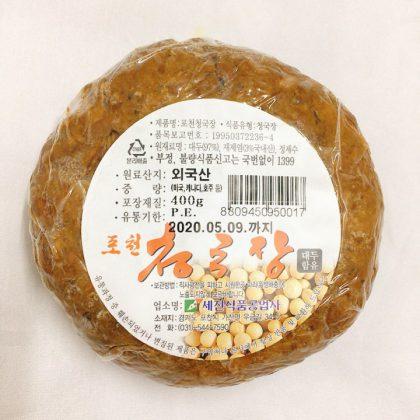 「冷蔵」チョンクッジャン(丸型)400g*1個