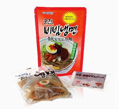 【宮殿】ビビム冷麺 (クンジョン冷麺) セット1人前