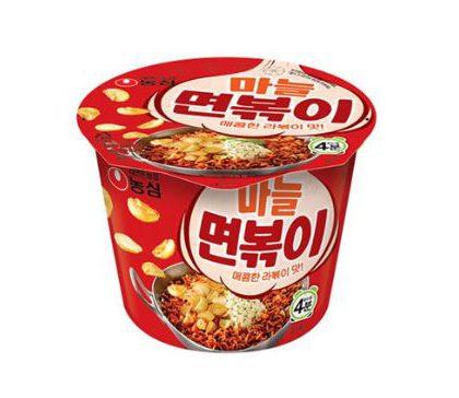 【農心】ニンニク麺ポキカップラーメン*1個