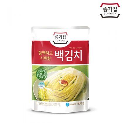 【宗家】 白キムチ(白白菜キムチ)500g*1個
