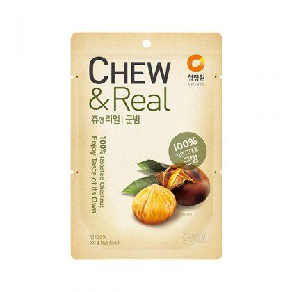 【チョンジョンウォン】チュ&リアル焼き栗80g*1個