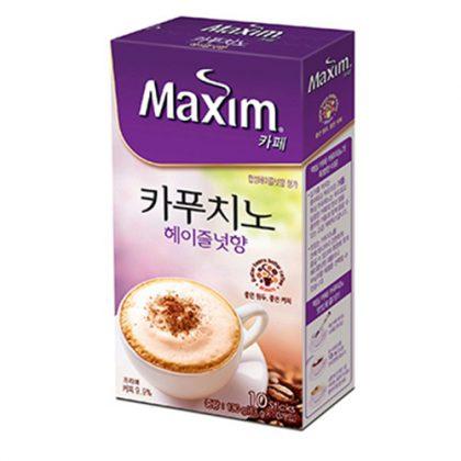 【maximカフェ】カプチーノ・へージェルナッツ香10包入り