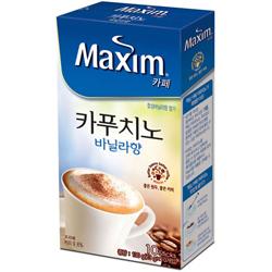 【maximカフェ】カプチーノ・バニラ香10包入り