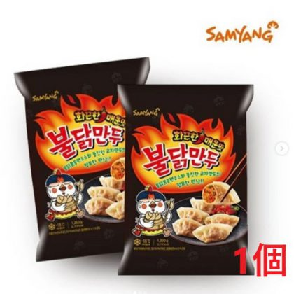 【冷凍】【三養】火鶏餃子 ブルダック餃子600g*1個