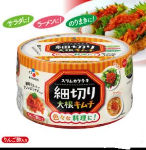 【冷蔵】【CJ】細切り大根キムチ180g