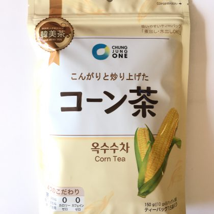 【チョンジョンウォン】こんがりと炒り上げたコーン茶10g×15入り