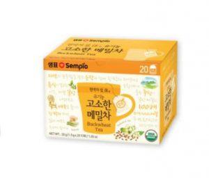 【セムピョ】オーガニックそば茶1.5g×20TB