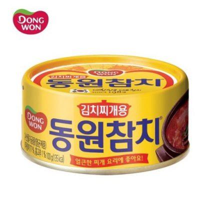 【DONGWON】キムチチゲ用ツナ缶詰100g*1個
