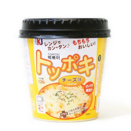 【KJ】 カップトッポキ(チーズ味)