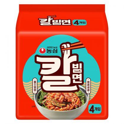 【農心】 カルビビン麺 144g・4個