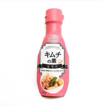 【k-cook】キムチの素(浅漬け)さっぱり&旨辛!220g