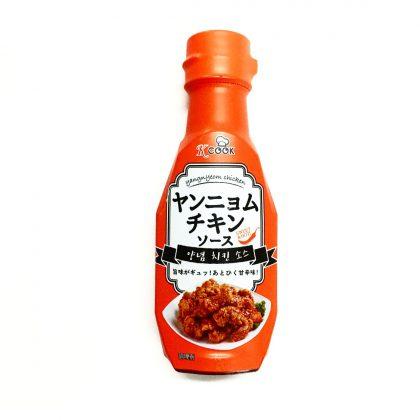 【k-cook】ヤンニョムチキンソース Sweet&Hot!240g