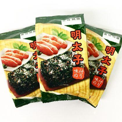【光天】明太子味付のり(8切×8枚×3パック)