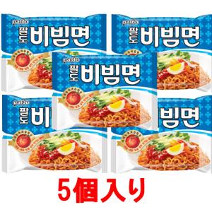 【八道】 ビビム麺 100g*5個入り