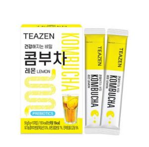 [TEAZEN]BTSコンブチャ・ジョングクが飲んだティーゼン昆布茶5g×10包・レモン