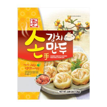 【冷凍】ASSI・李家 キムチ餃子1.3kg(約37個)