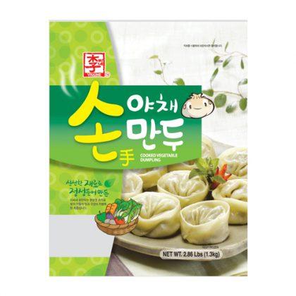 【冷凍】ASSI・李家 野菜餃子1.3kg(約37個)