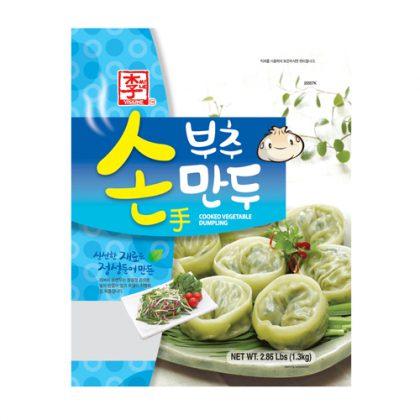 【冷凍】ASSI・李家 ニラ餃子1.3kg(約37個)