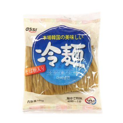 【assi】 韓国そば粉入り冷麺麺160g