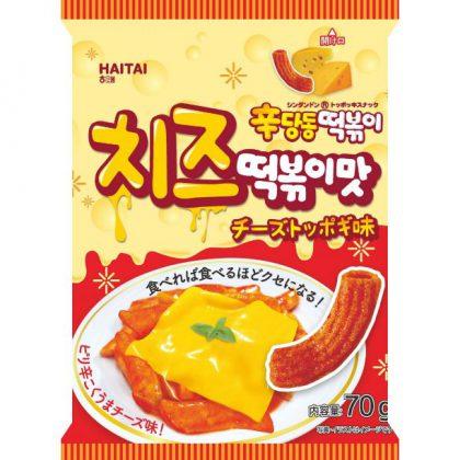 【ヘテ】辛ダンドントッポキ・チーズ味 70g