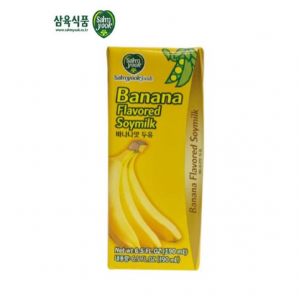 【Samyook】バナナ味豆乳190ml