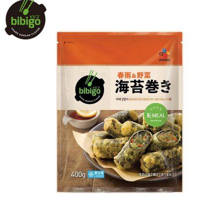 【冷凍】【ビビゴbibigo】春雨&野菜 海苔巻き 400g
