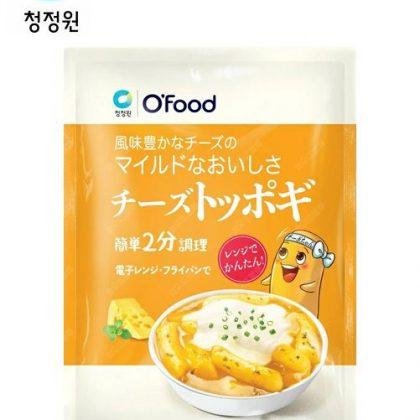 【チョンジョンウォン】マイルドなおいしさチーズトッポキ140g
