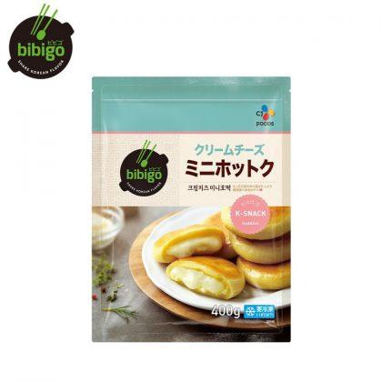 【冷凍】【ビビゴbibigo】クリームチーズミニホットク400g
