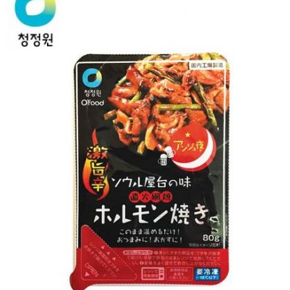 【冷凍】【チョンジョンウォン】アンジュ夜 豚ホルモン焼き 80g*1個