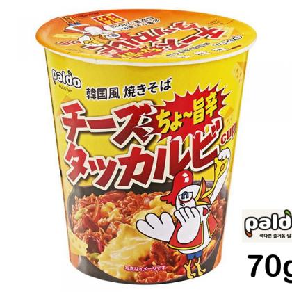 【paldo】チーズタッカルビ カップ麺 70g