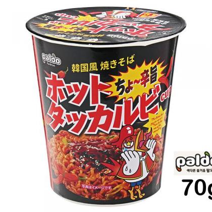 【paldo】ホットタッカルビ カップ麺 70g