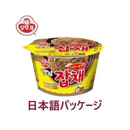 【オトギ】昔カップチャプチェ(日本語パッケージ)82.5g