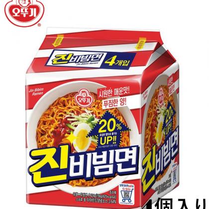 【オトギ】ジンビビン麺4個入り・156g