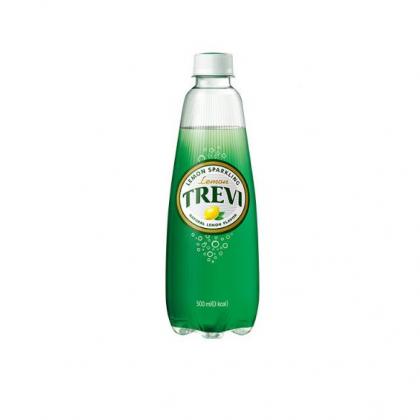 【ロッテ】TREVI・爽やかな炭酸水・レモン500ml