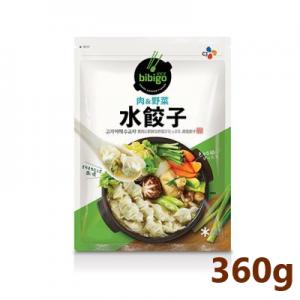 【冷凍】【bibigoビビゴ】水餃子 肉&野菜 360g